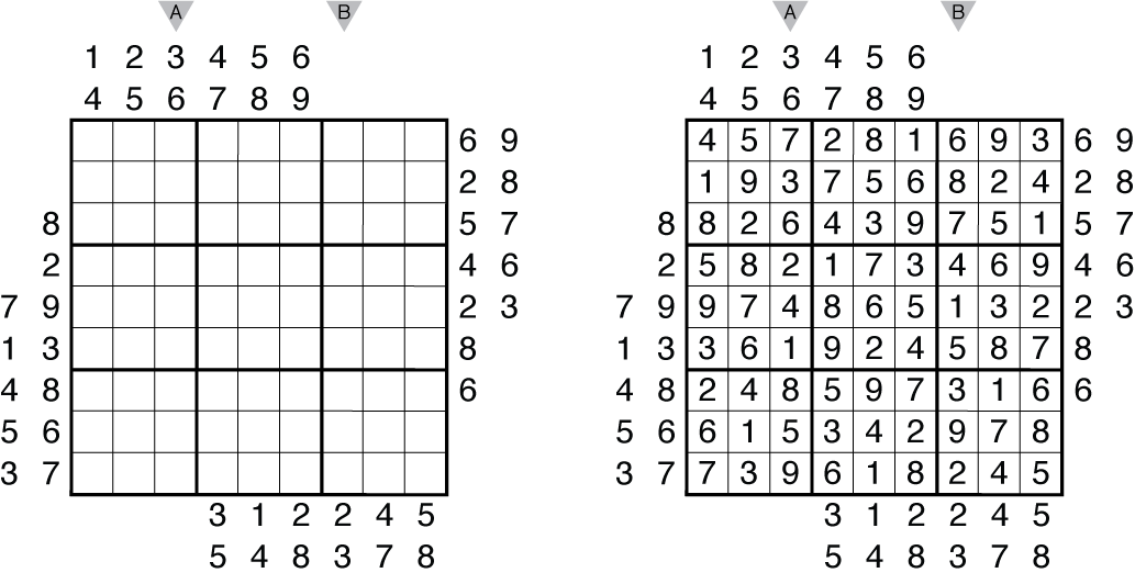 Outside Sudoku R&I - The Art of Puzzles | The Art of Puzzles