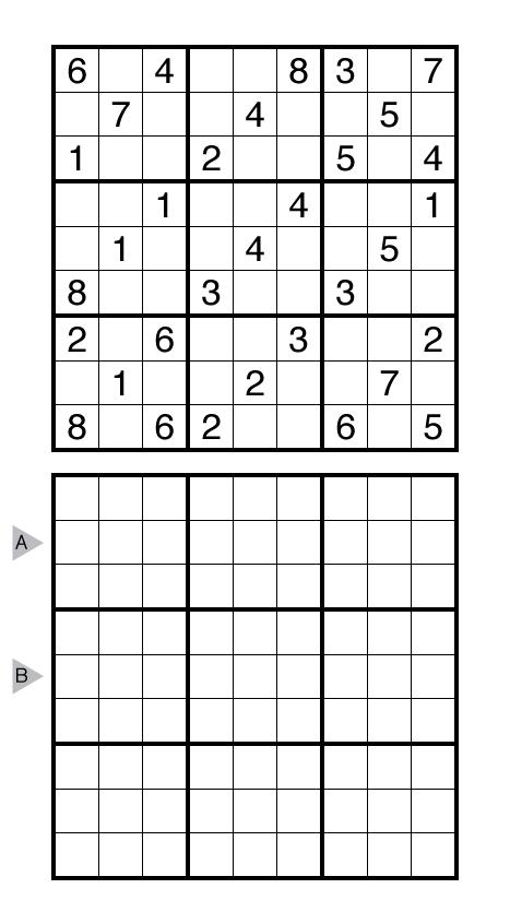 Hamle Sudoku by Prasanna Seshadri