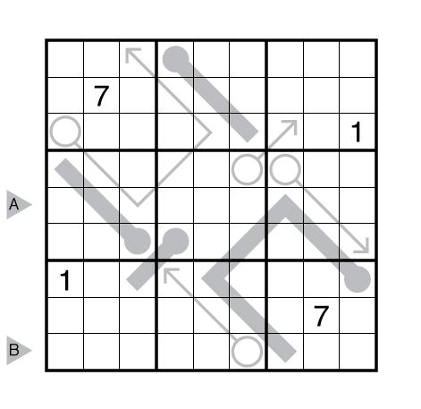 Arrow Thermo-Sudoku by Prasanna Seshadri