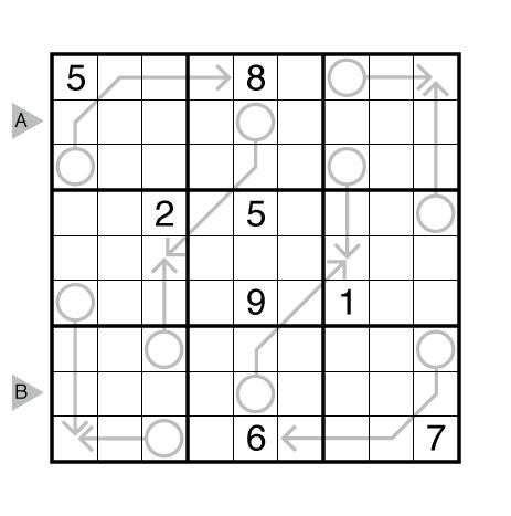 Arrow Sudoku by Rajesh Kumar