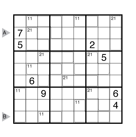 Killer Sudoku by Serkan Yürekli