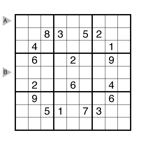 No Touch Sudoku by Serkan Yürekli