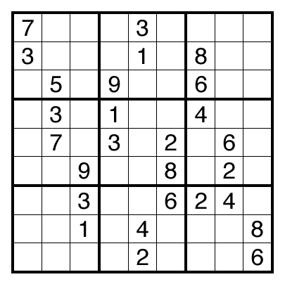 Sudoku by Thomas Snyder