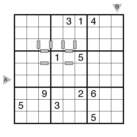 Consecutive Sudoku by Fatih Kamer Anda