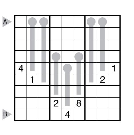 Thermo-Sudoku by John Bulten