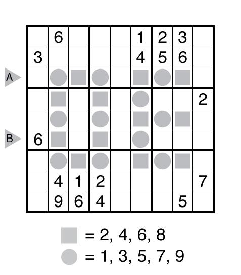Even Odd Sudoku by Kishore Kumar Sridharan