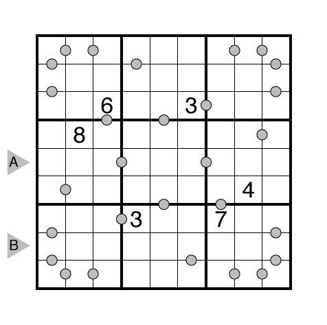 Consecutive Pairs Sudoku by Murat Can Tonta