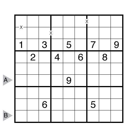 XV Sudoku by Ashish Kumar