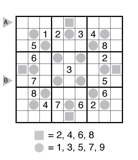 Even Odd Sudoku by Gaurav Kumar Jain