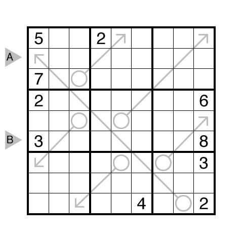 Arrow Sudoku by Kishore Kumar Sridharan