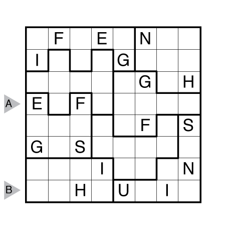 Jigsaw Wordoku by Bryce Herdt