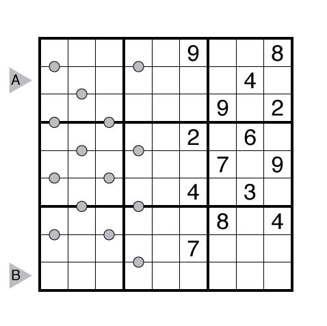 Consecutive Pairs Sudoku by Ashish Kumar