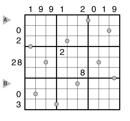 Birthday Surprise Sudoku by Prasanna Seshadri