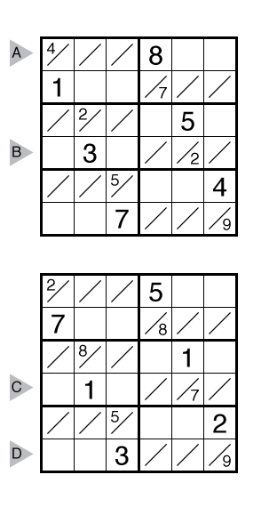 Tight Fit Sudoku by Chris Green