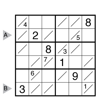 Tight Fit Sudoku by Joseph Howard