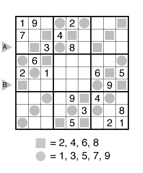 Even Odd Sudoku by Akash Doulani