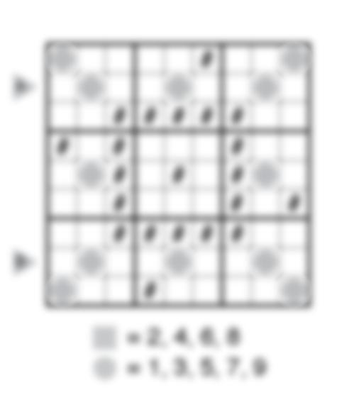 Even Odd Sudoku by Thomas Snyder