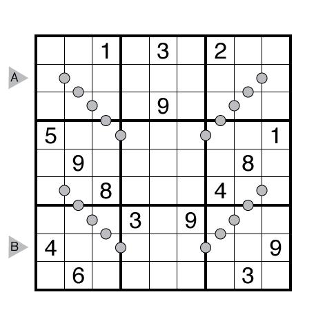 Consecutive Pairs Sudoku by Akash Doulani