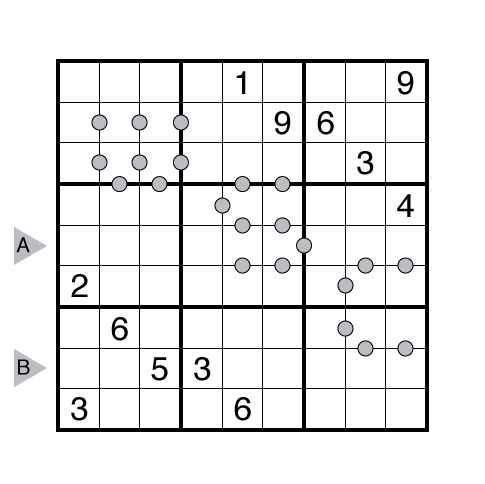 Consecutive Pairs Sudoku by Thomas Snyder