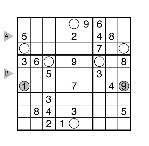 Frameless Sudoku by Serkan Yürekli
