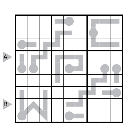 Thermo-Sudoku by Ashish Kumar
