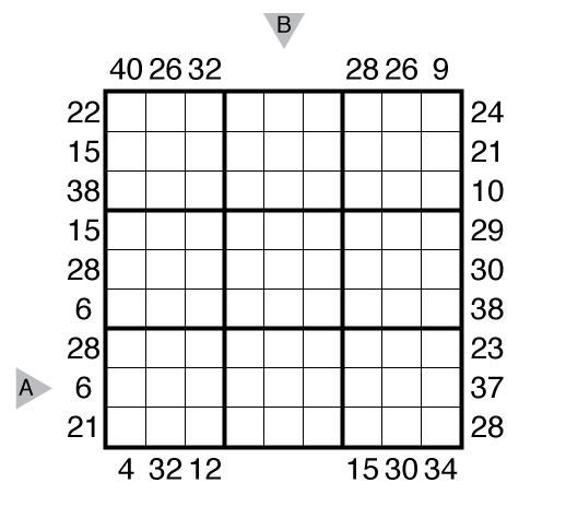Frameless Sudoku by Prasanna Seshadri