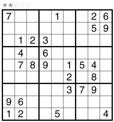Sudoku by Akash Doulani