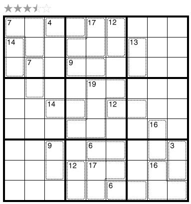 Killer Sudoku by Grant Fikes