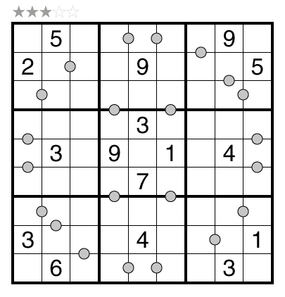 Consecutive Pairs Sudoku by Rajesh Kumar