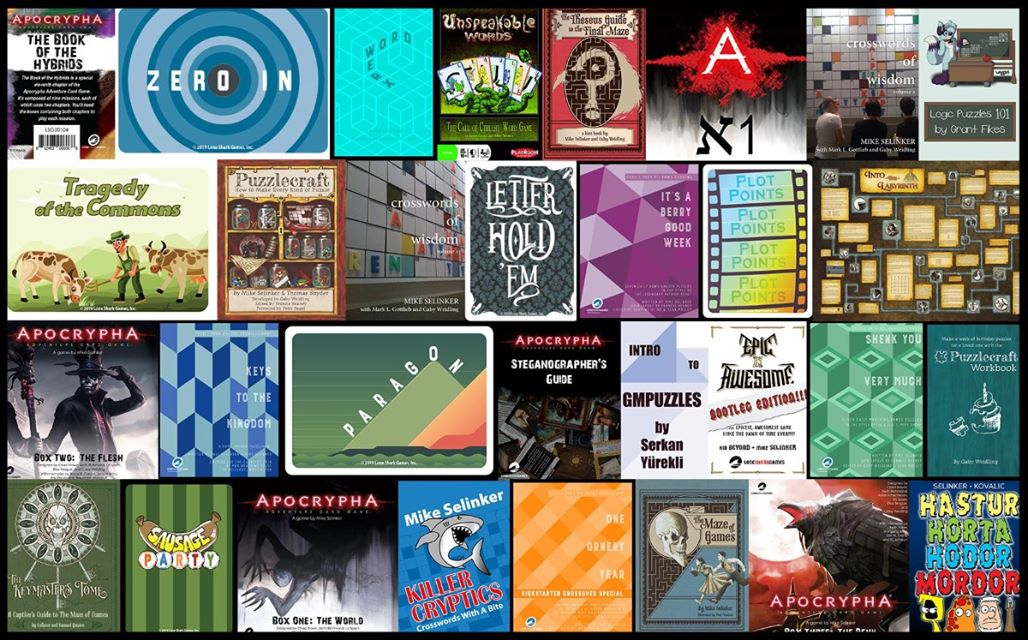 Humble Book Bundle with GMPuzzles books
