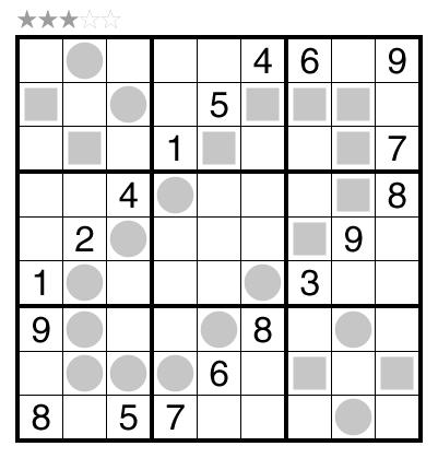 Even/Odd Sudoku by Swaroop Guggilam