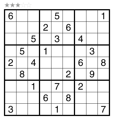 Sudoku by R. Kumaresan