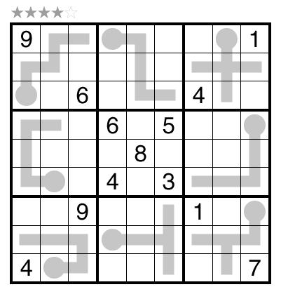 Thermo-Sudoku by Zoltán Horváth