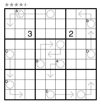 Arrow Sudoku (Cipher) by Ashish Kumar