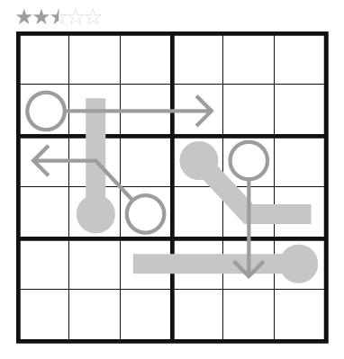 Arrow Thermo-Sudoku by JinHoo Ahn