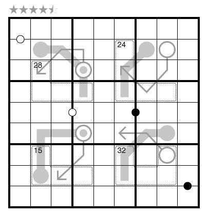 Arrow/Killer/Kropki/Thermo-Sudoku by Michael Rios