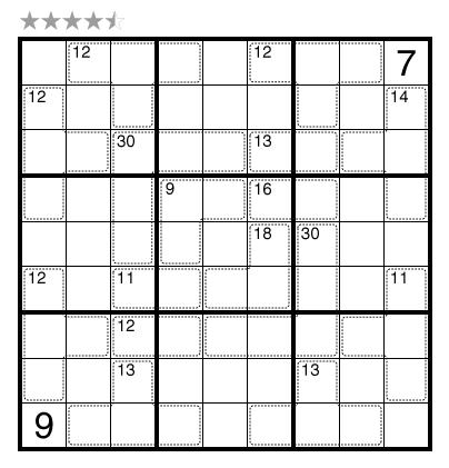 Killer Sudoku by Prasanna Seshadri