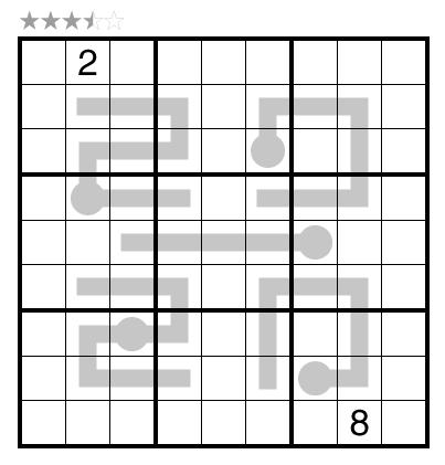 Thermo-Sudoku by Teddy Tan