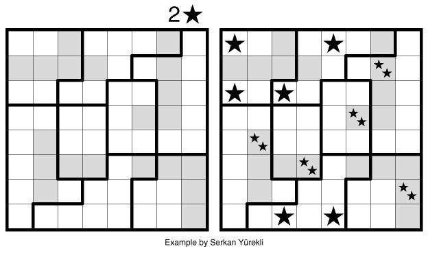 Star Battle Double example by Serkan Yürekli
